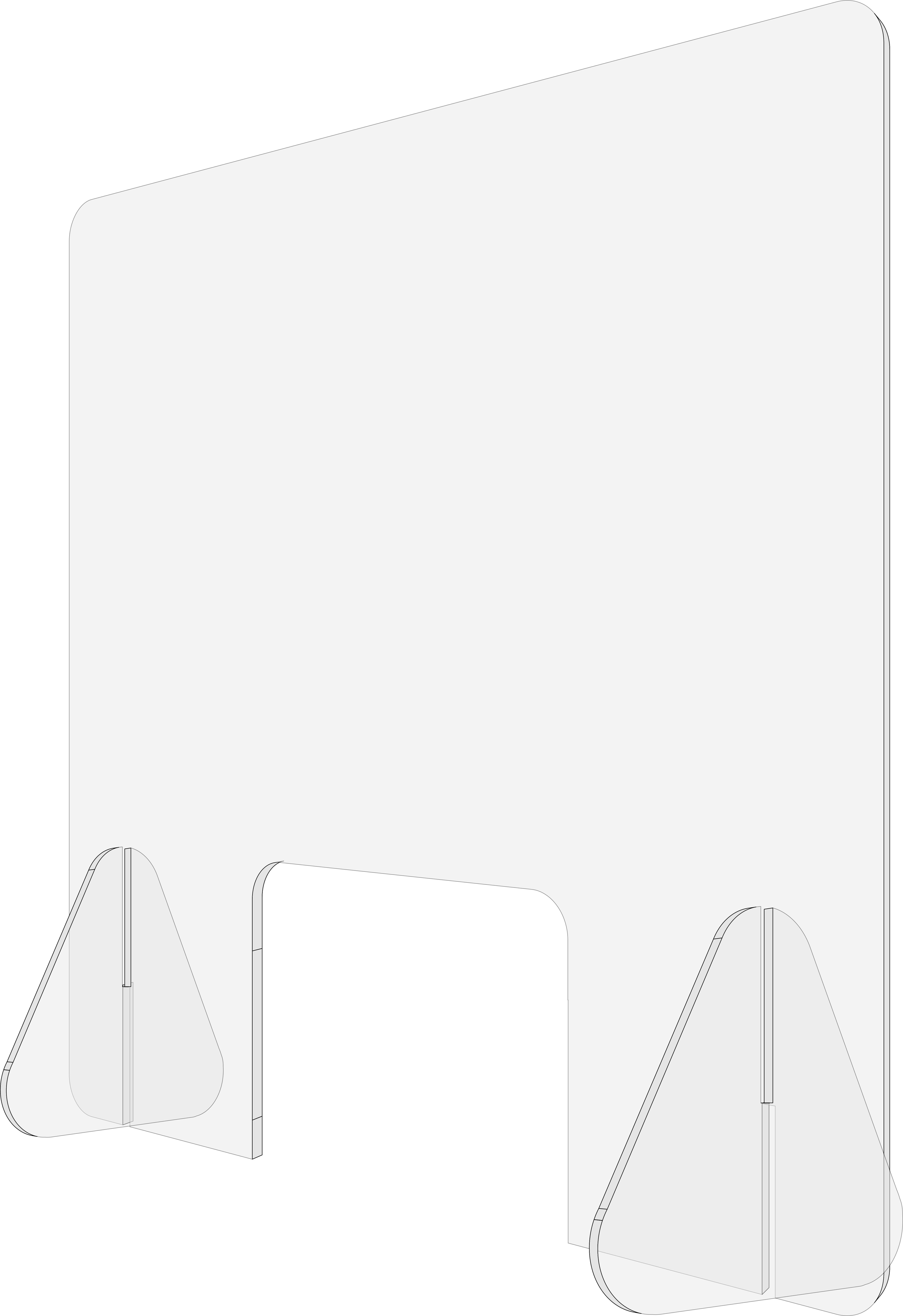 Liquiprotect - Schutzwand 500x500
