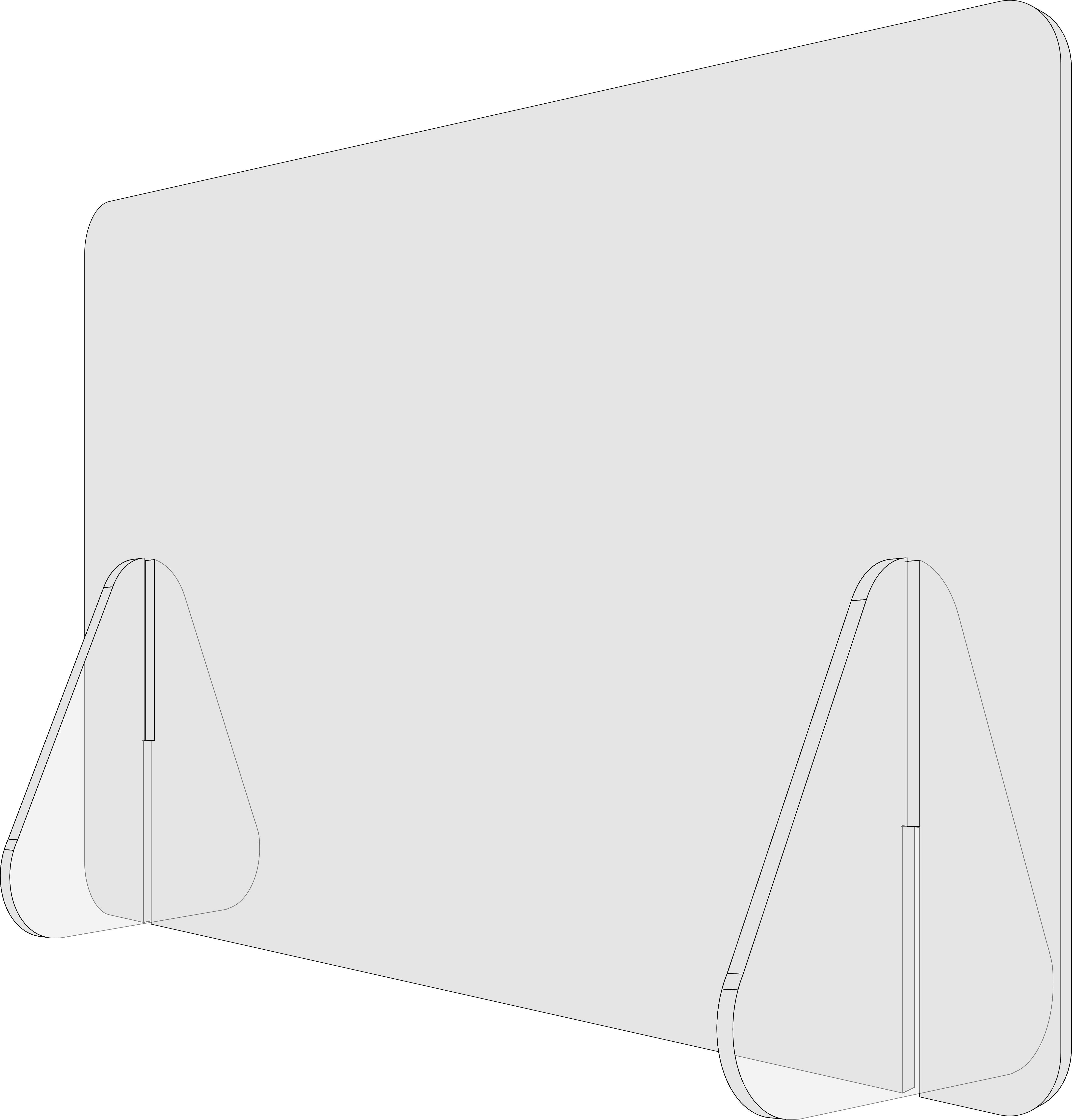 Liquiprotect - Schutzwand 500x300