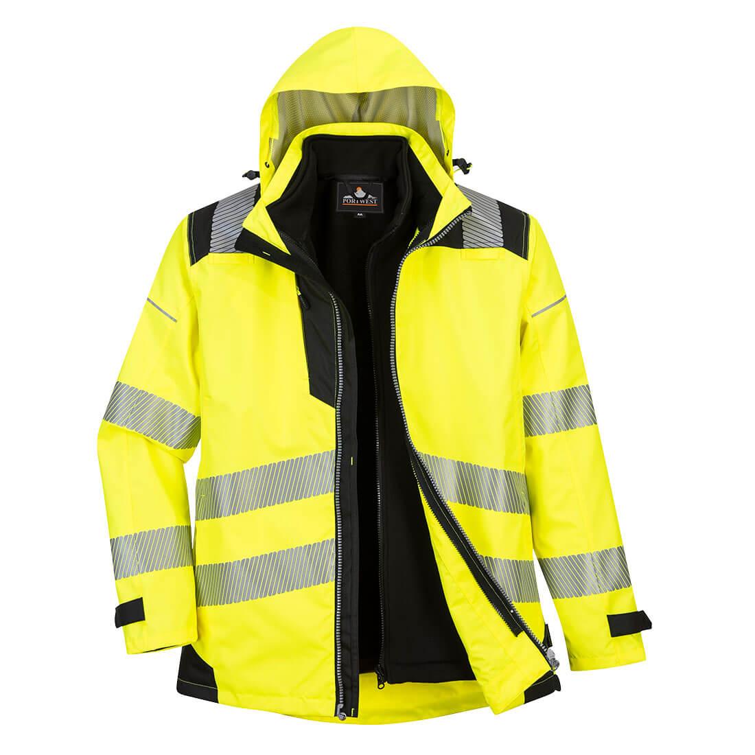 Warnschutz 3-in-1 Jacke Klasse 3